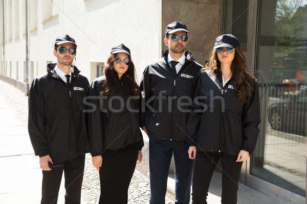 Stock photo: Portrait Of Young Security Guards