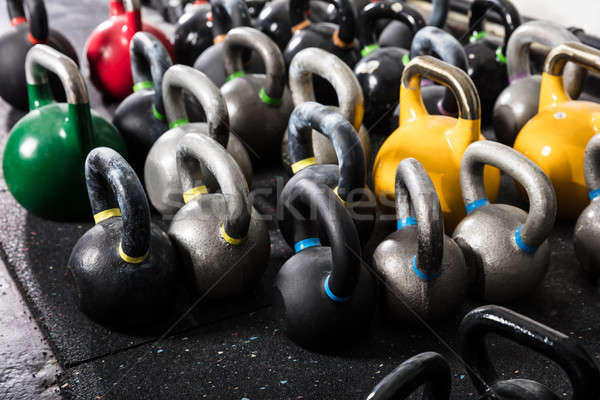 Different Sizes Of Kettle Bell Stock photo © AndreyPopov