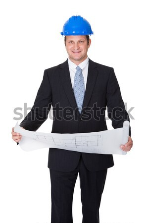 Portrait Of Male Architect With Thumbs-up Sign Stock photo © AndreyPopov
