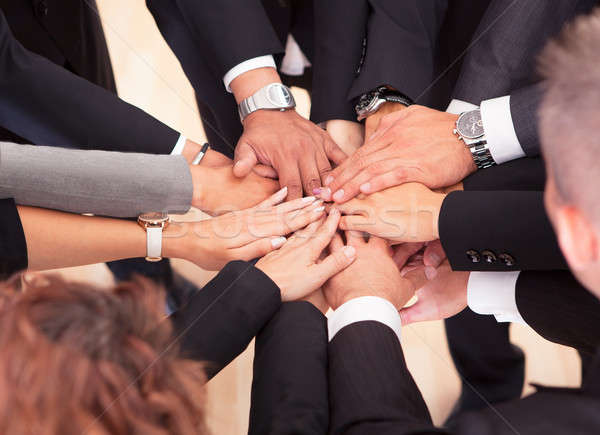 Business People With Their Hands Together Stock photo © AndreyPopov