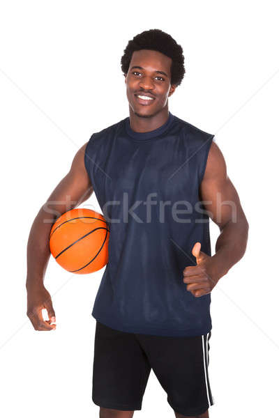 Basketball Player With Thumb Up Sign Stock photo © AndreyPopov