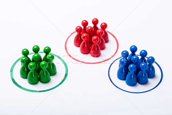 Customers Segmented Into Groups Stock photo © AndreyPopov