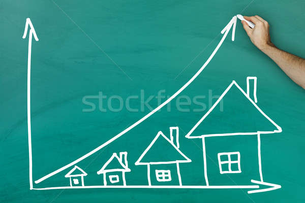 House prices growth concept Stock photo © AndreyPopov