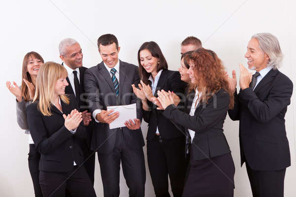 Business Team Applauding Stock photo © AndreyPopov