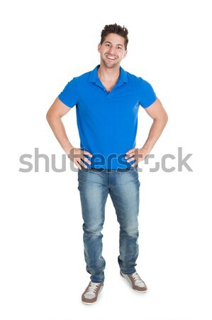 Handsome Mid Adult Man In Casuals Stock photo © AndreyPopov
