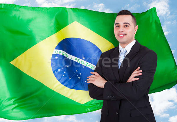 Portrait Of Brazilian Businessman Stock photo © AndreyPopov