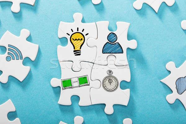Girişimcilik başarı formül fikir zaman para Stok fotoğraf © AndreyPopov