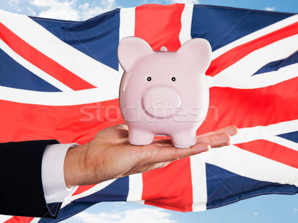 英国の ビジネスマン お金 ストックフォト © AndreyPopov