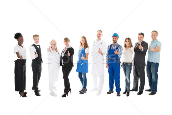 Portrait Of People With Various Occupations Stock photo © AndreyPopov