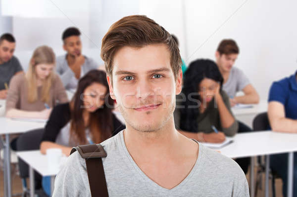 Stock photo: Close-up Of A Male Student