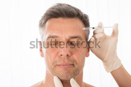 Man Holding Inhaler Stock photo © AndreyPopov