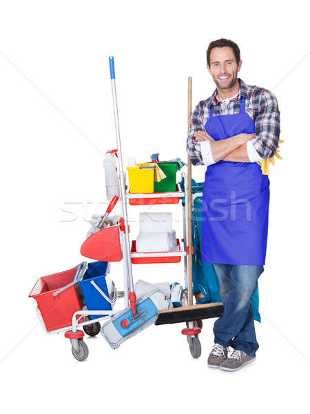 Professional cleaning service Stock photo © AndreyPopov