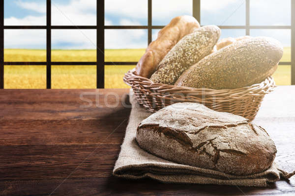 Variedade pão Foto stock © AndreyPopov
