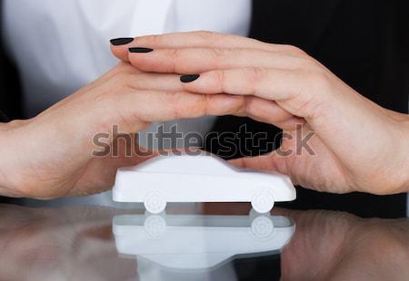 Man Hand Breaking Cigarette  Stock photo © AndreyPopov