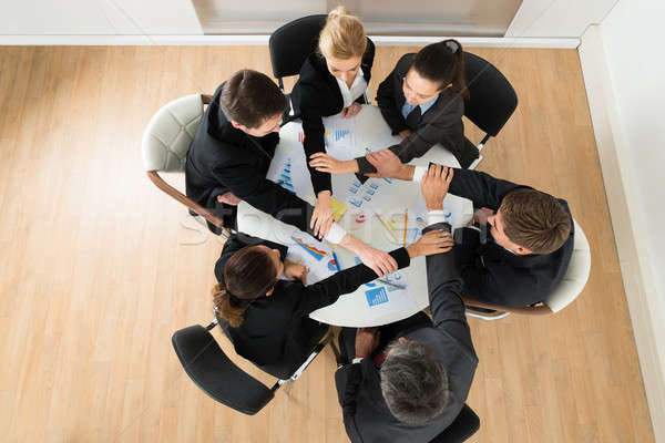 Businesspeople Joining Hands Stock photo © AndreyPopov