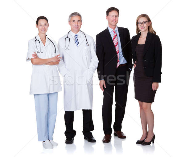 Professional Hospital Staff Stock photo © AndreyPopov