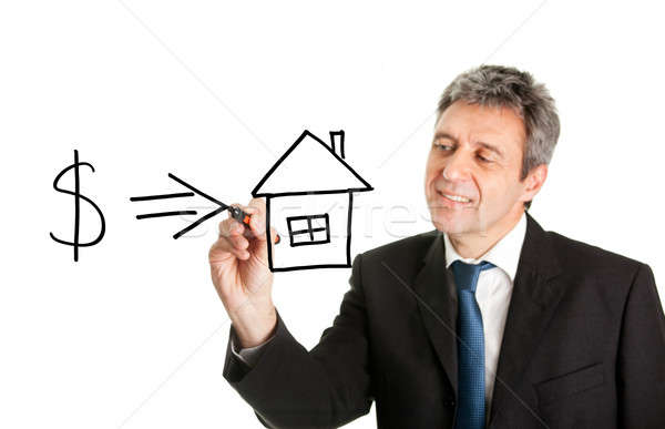 Home investment concept Stock photo © AndreyPopov