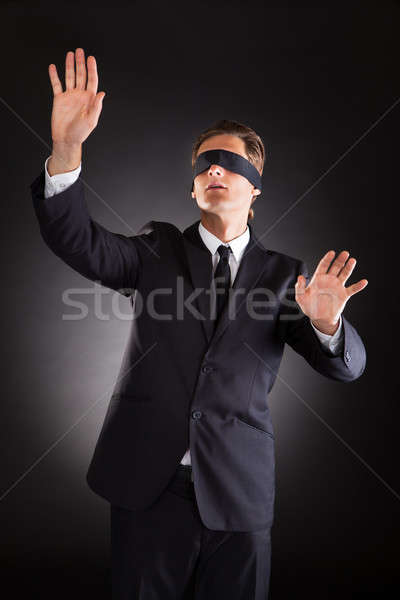 Disoriented Businessman Stock photo © AndreyPopov