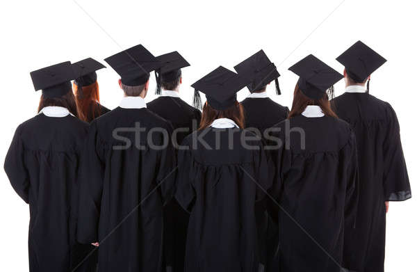 Large group of students graduating Stock photo © AndreyPopov