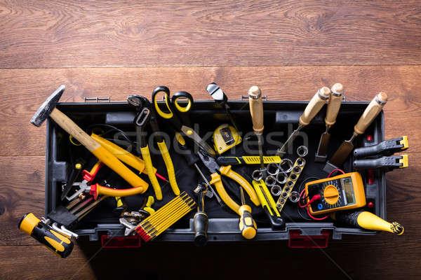 Many Yellow Repair Tools Stock photo © AndreyPopov