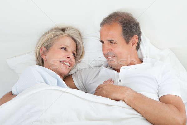 Happy Senior Couple Stock photo © AndreyPopov