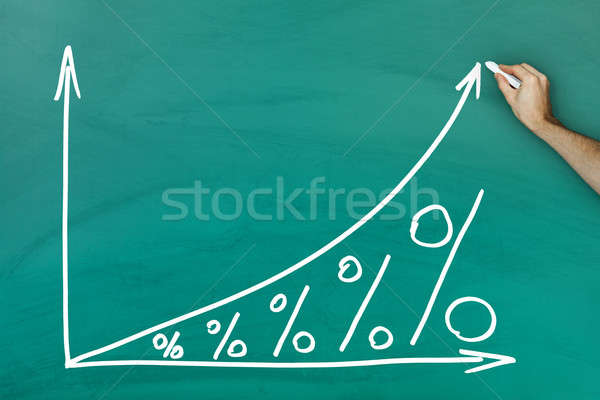 Interest growth concept Stock photo © AndreyPopov