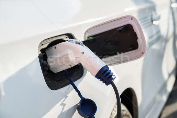 Charging Of An Electric Car Stock photo © AndreyPopov