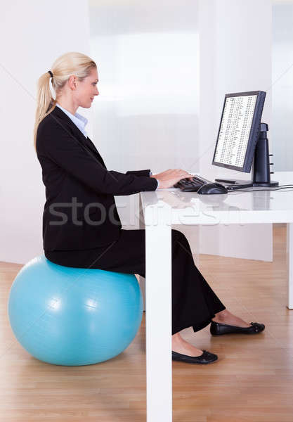 Stock photo: Comfortable working environment