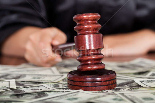 Judge Striking The Gavel Stock photo © AndreyPopov