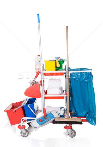 Stok fotoğraf: Temizlik · profesyonel · yalıtılmış · beyaz · arka · plan