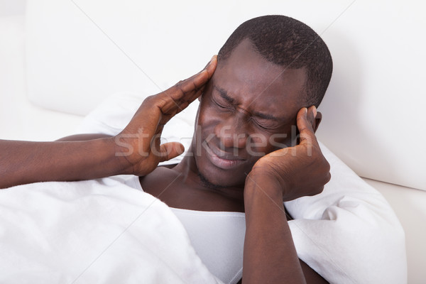 Stock photo: Young Man Having Headache