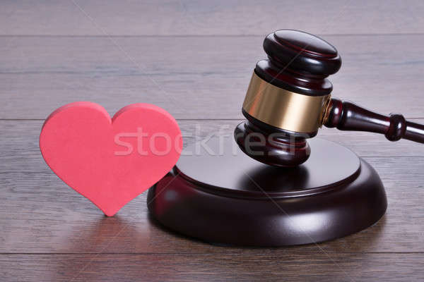 Divorce concept Stock photo © AndreyPopov