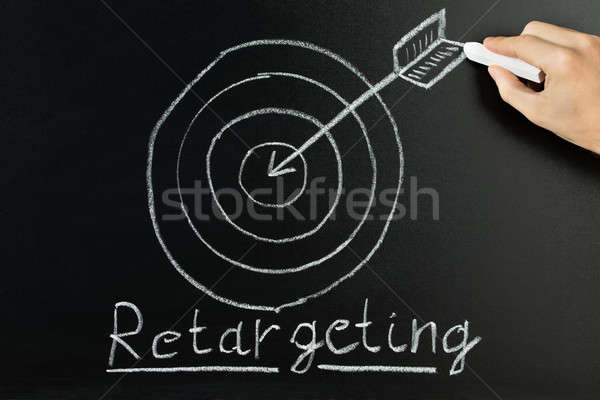 Person Showing Retargeting Concept Stock photo © AndreyPopov