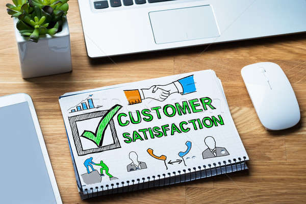 Customer Satisfaction Survey Concept Stock photo © AndreyPopov