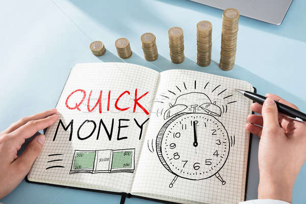 Quick Money Concept Stock photo © AndreyPopov