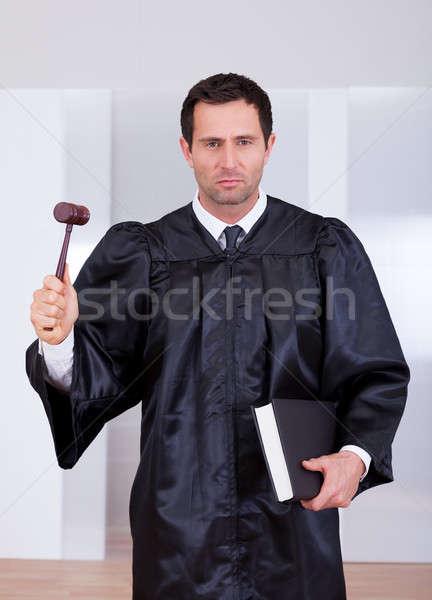 Portrait Of Serious Male Judge Stock photo © AndreyPopov