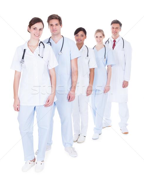 Сток-фото: врачи · Постоянный · счастливым · группа