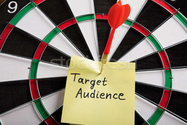Aim On A Target Audience Concept Stock photo © AndreyPopov