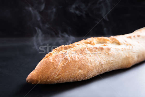 Freshly Baked Loaf Bread Stock photo © AndreyPopov