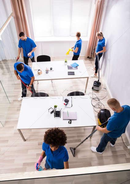 равномерный очистки служба мнение современных Сток-фото © AndreyPopov