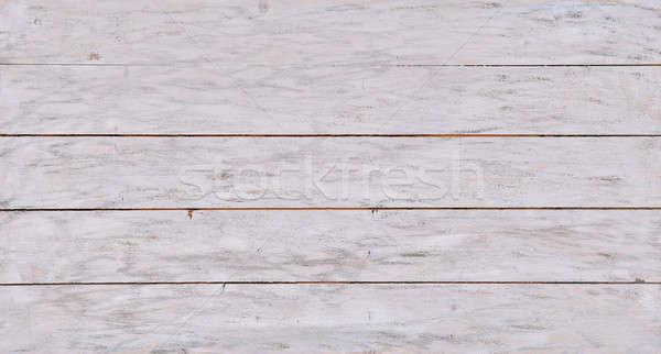 White Wood Textured Background Stock photo © AndreyPopov