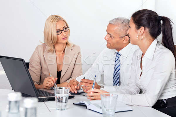Business Consultation Stock photo © AndreyPopov