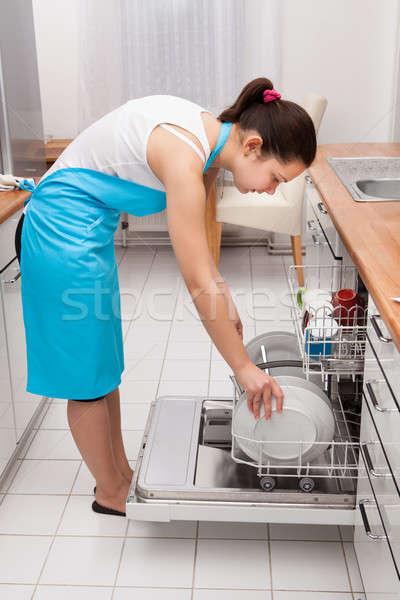 Woman Doing Housework Stock photo © AndreyPopov