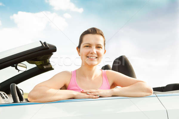 Young Woman In Car Stock photo © AndreyPopov
