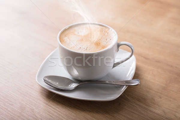 Elevated View Of Hot Coffee Stock photo © AndreyPopov