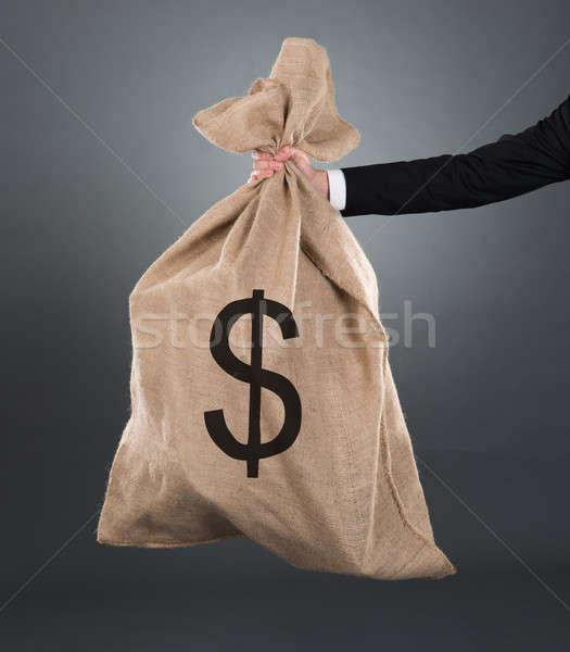 Işadamı dolar işareti görüntü Stok fotoğraf © AndreyPopov