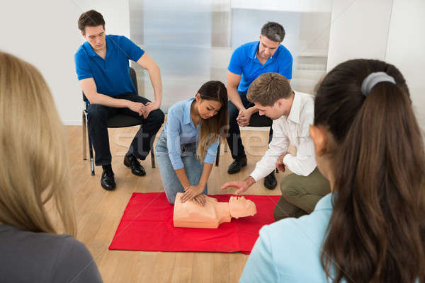 First Aid Training Stock photo © AndreyPopov