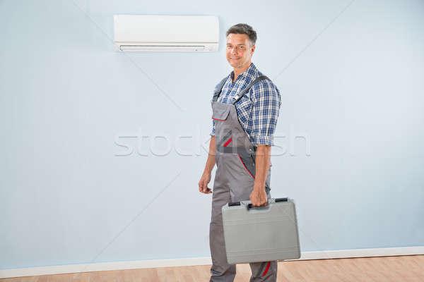 Technician With Toolkit Stock photo © AndreyPopov