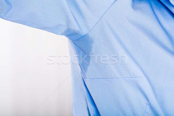 Mujer sudar axila primer plano cuerpo Foto stock © AndreyPopov