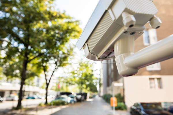 Security Camera On The Street Stock photo © AndreyPopov